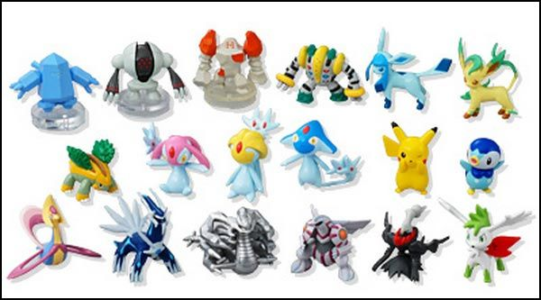 Nouvelle figurines - Pokemon legendaire platine ...